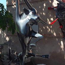 Alain Gerez sculpture